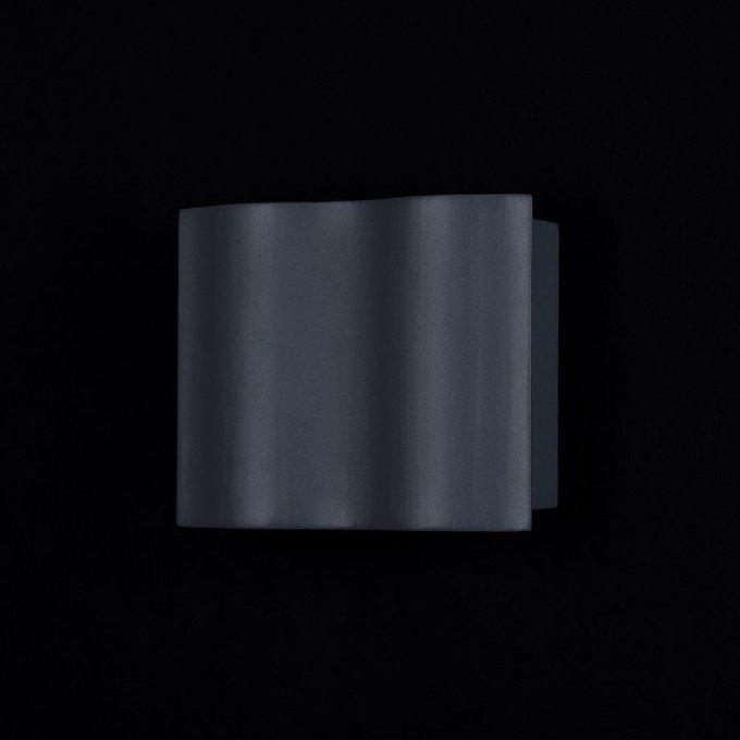 Уличный настенный светильник Greenwich серого цвета