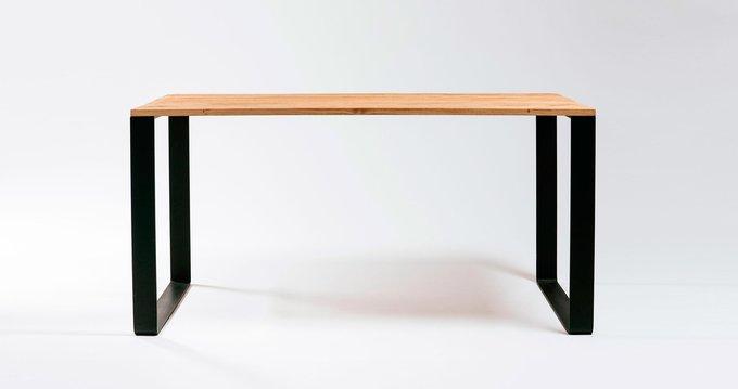 Обеденный/рабочий стол Rocco на металлических ножках