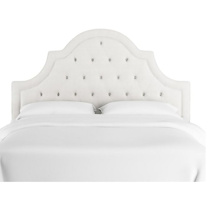Кровать Harvey Tufted White 160х200