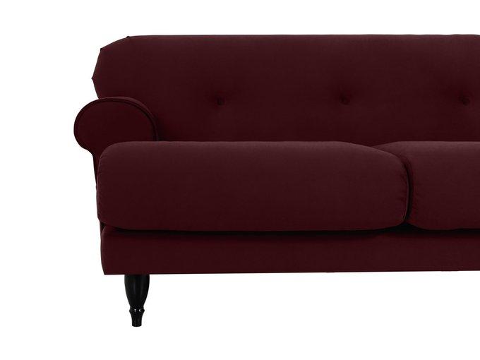 Двухместный диван Italia коричневого цвета