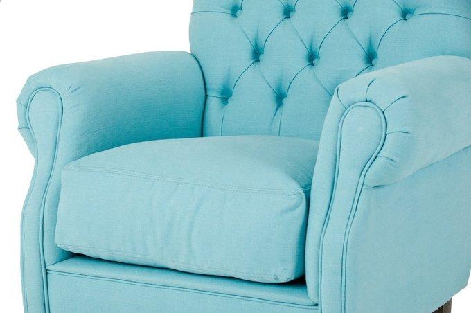 Мягкое кресло на колесиках