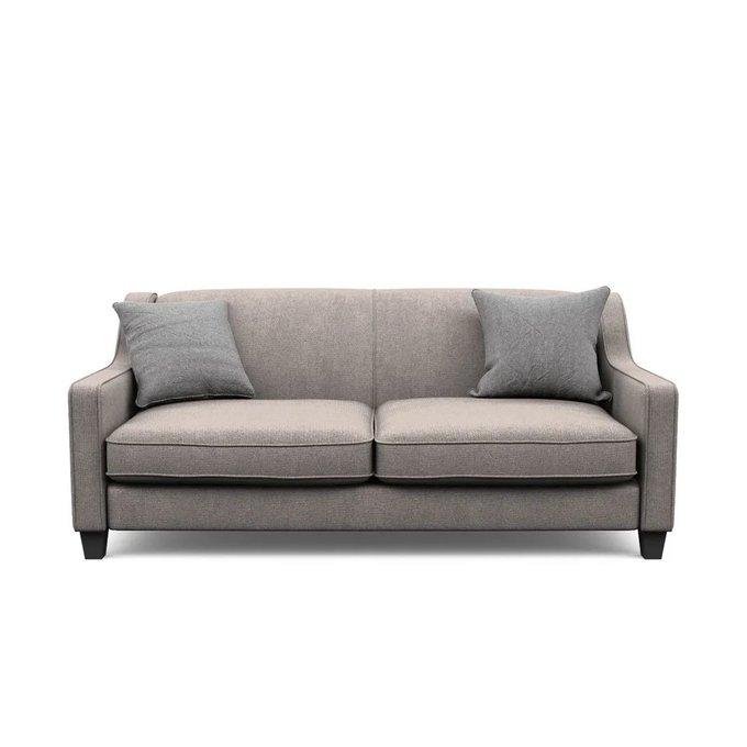 Трехместный диван Агата L бежевого цвета