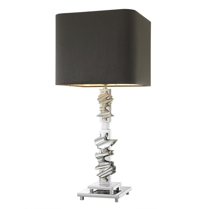 Настольная лампа Eichholtz Abruzzo с черным абажуром