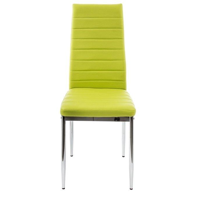 Обеденный стул зеленого цвета