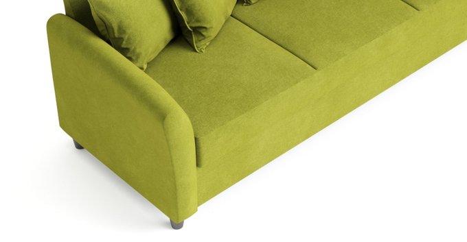 Диван-кровать Катарина зеленого цвета