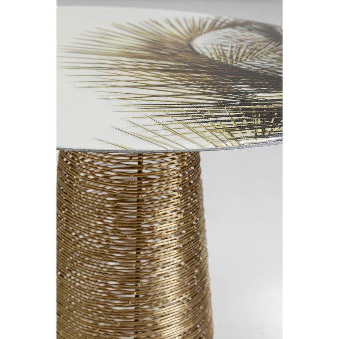 Столик приставной Charme цвета латуни