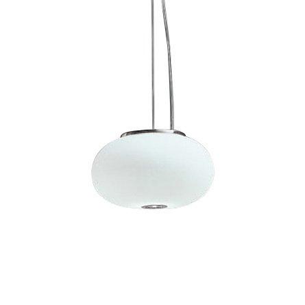 Подвесной светильник Panzeri BLOW из выдувного белого матового стекла
