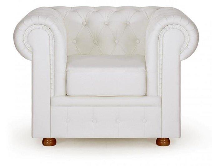 Кресло Честер White белого цвета