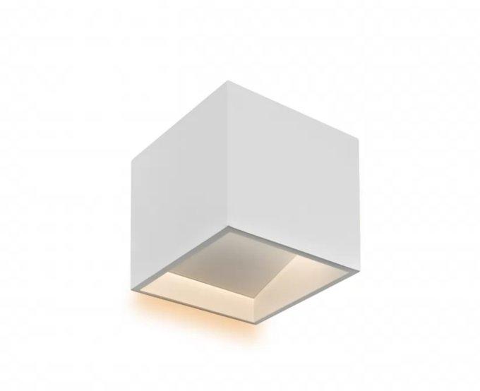 Настенный светильник Dice белого цвета