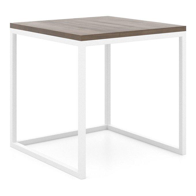 Журнальный столик Loft со столешницей цвета орех
