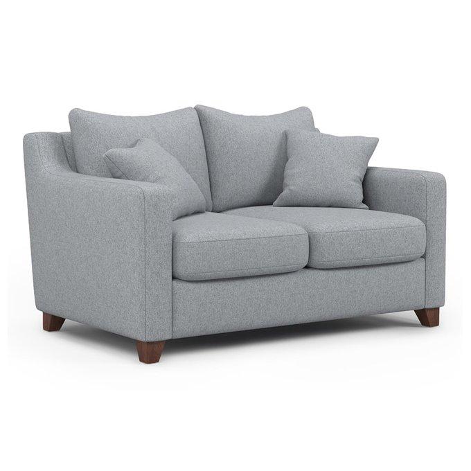 Двухместный диван Mendini MT серого цвета