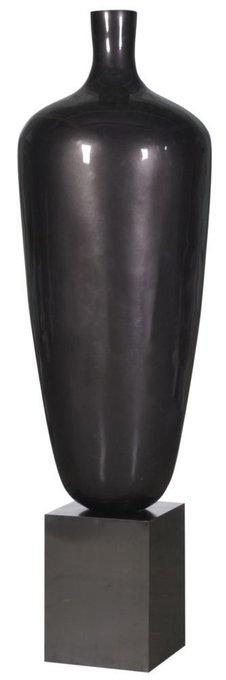 """Ваза напольная """"Vase Polyresin and stainless steel"""""""