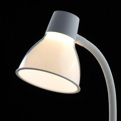 Настольная лампа Ракурс белого цвета