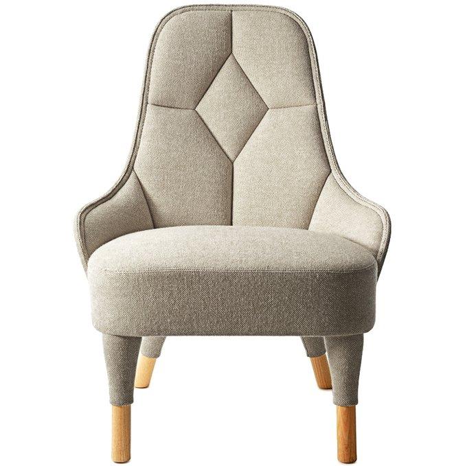 Кресло Emma бежевого цвета