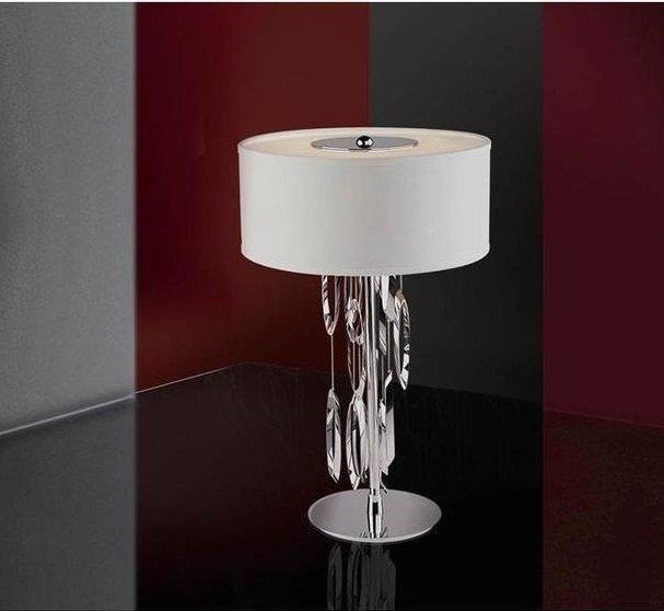 Настольная лампа Schuller Domo с белым абажуром