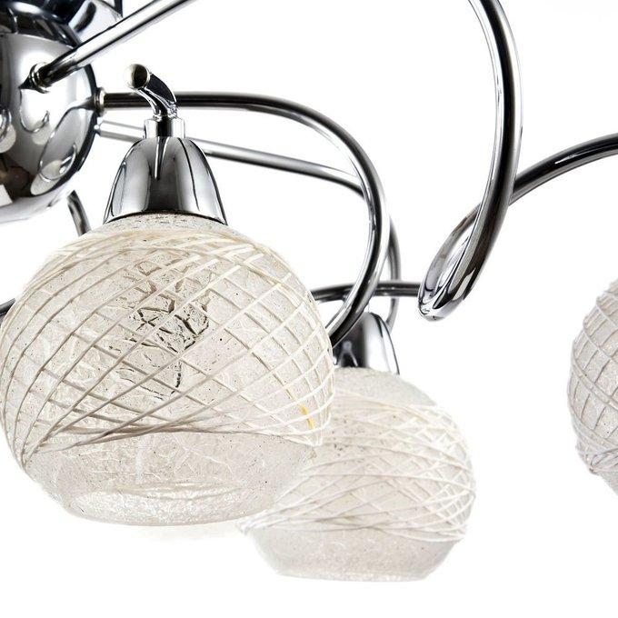 Потолочная люстра Orin с белыми плафонами