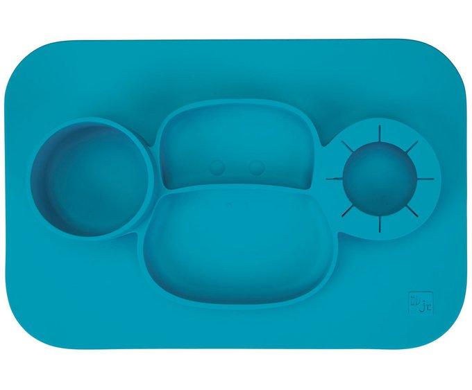 Тарелка Id Monkey синего цвета