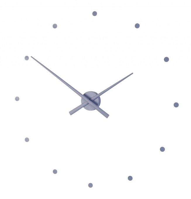 Настенные часы OJ Steel Blue стального синего цвета