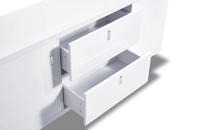 Буфет Maureen с дверцами и ящиками белого цвета