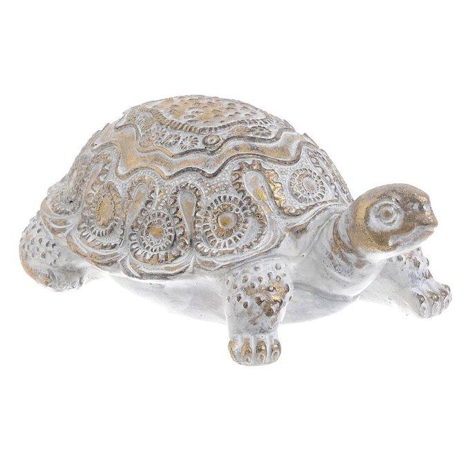 Статуэтка Черепаха золотого цвета