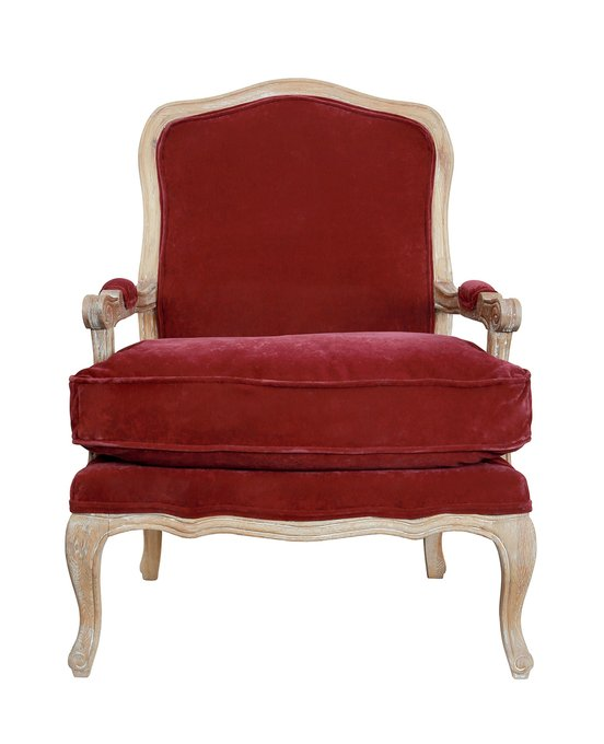 Кресло Nitro бордового цвета