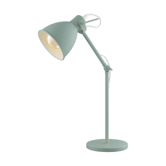 Настольная лампа Priddy-P зеленого цвета