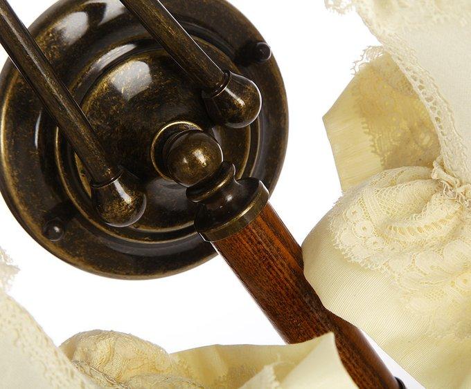 Бра Jago Romantici с кружевными абажурами белого цвета