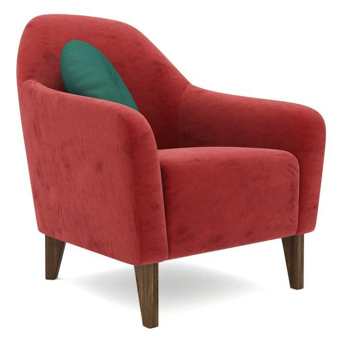 Кресло Miami lux красного цвета