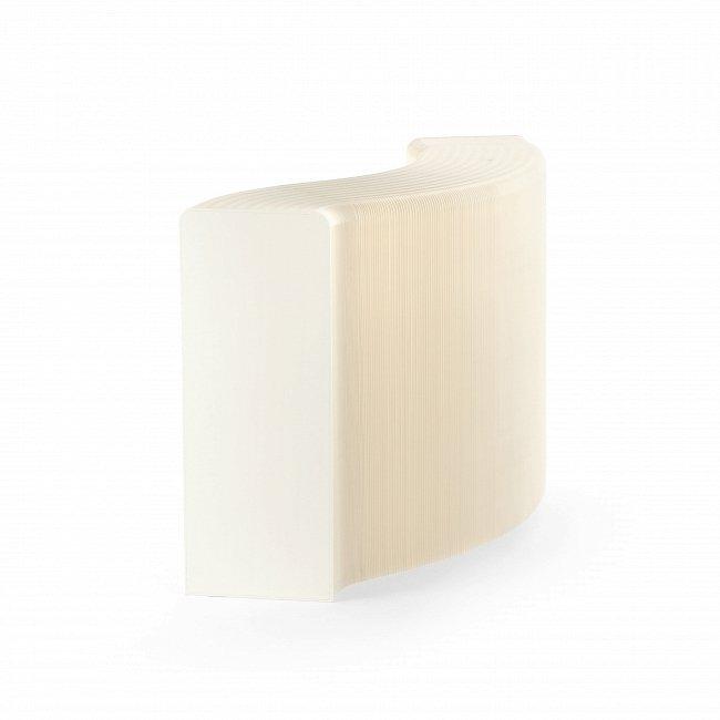 Полка бумажная белая