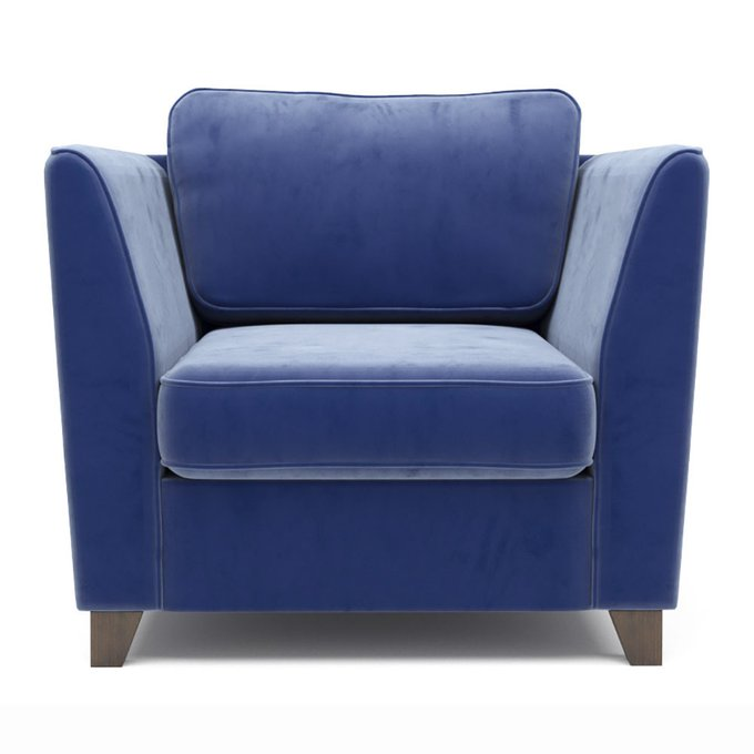 Кресло Wolsly синего цвета