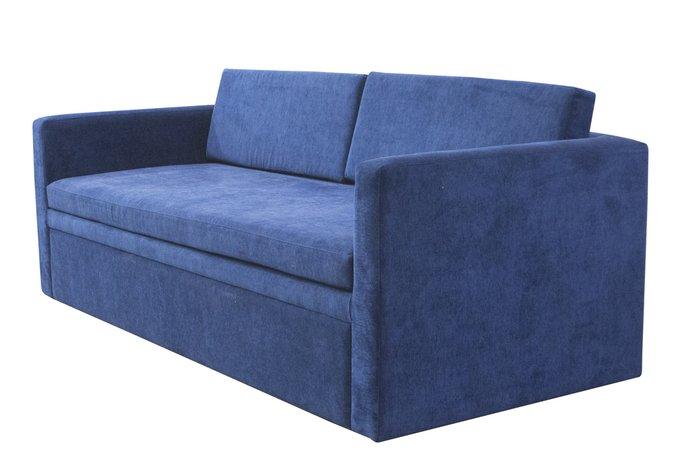 Мягкий диван Burgos синего цвета