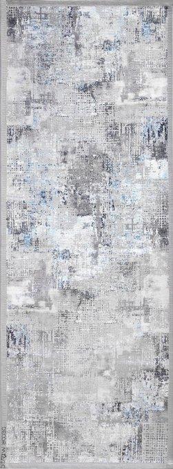 Ковер Urban Castle серого цвета 60х160