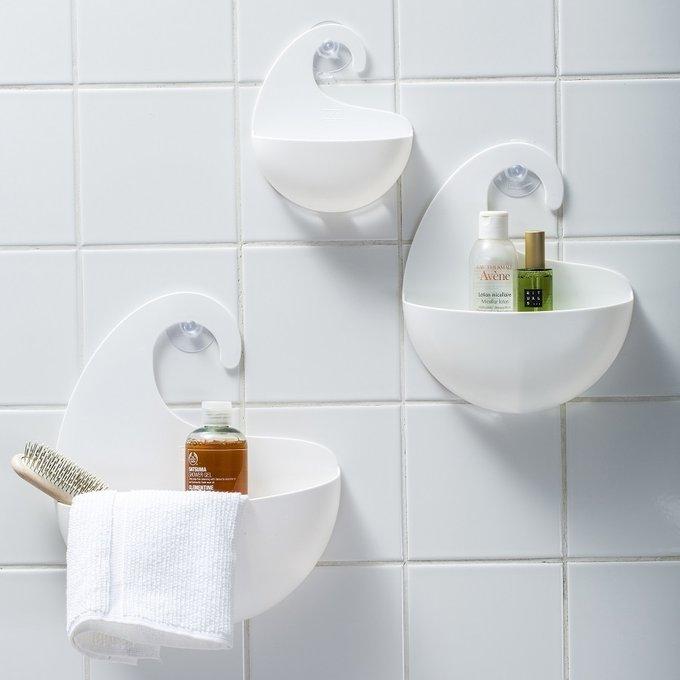 Органайзер для ванной Surf xs белого цвета