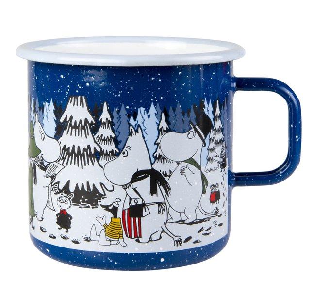 Кружка Moomin Winter Forest из стали