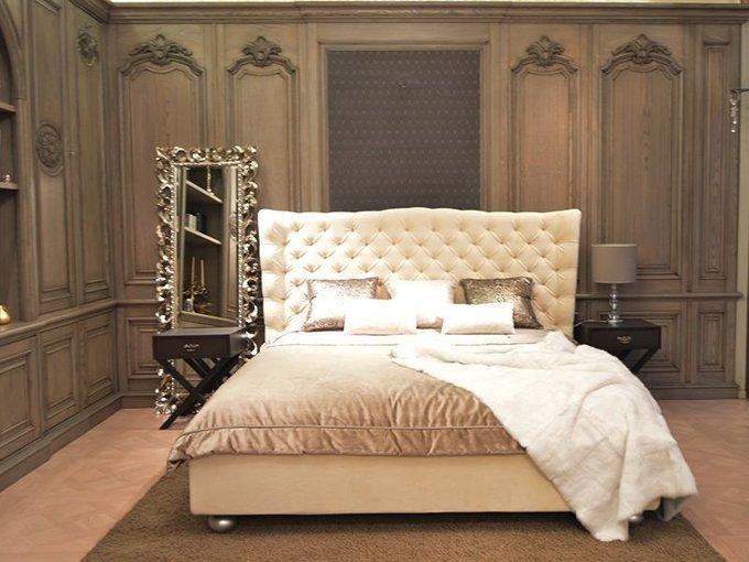 """Кровать """"Molly Milk"""" с основанием из высококлассной древесины 180х200 см"""
