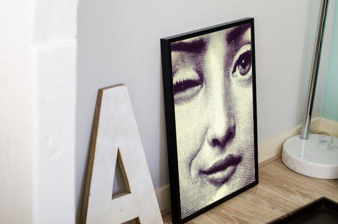 "Постер ""Fornasetti wink"" А4"