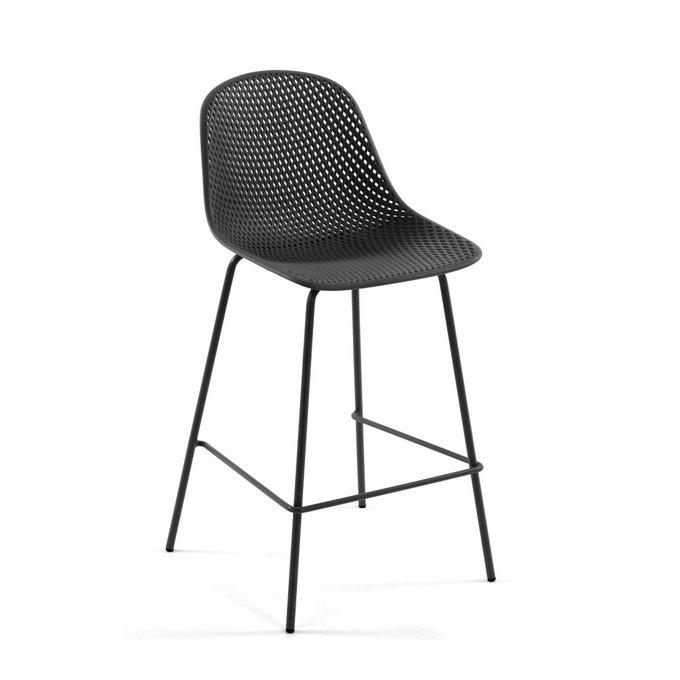 Барный стул Quinby Grey серого цвета