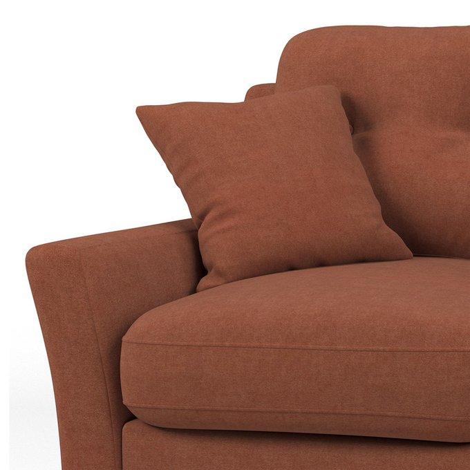 Диван трехместный Raf MT коричневого цвета
