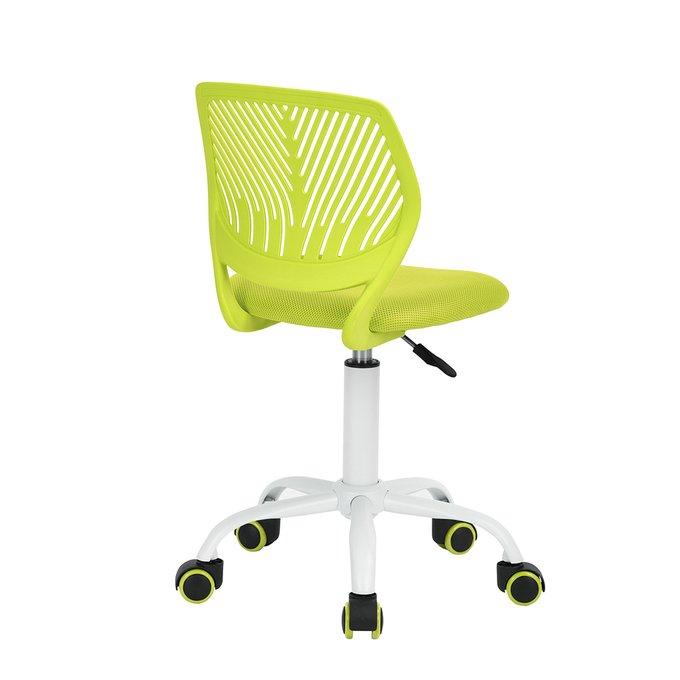 Кресло компьютерное детское Анна салатового цвета
