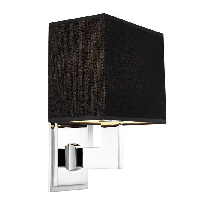 Настенная лампа Balthazar с черным абажкром