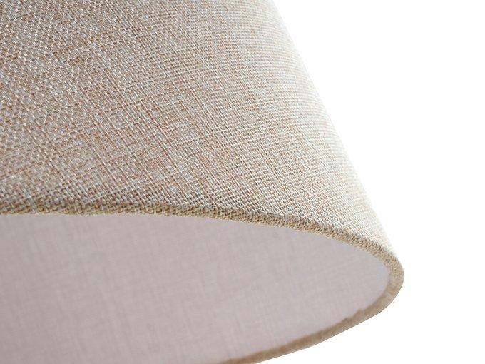 Лампа Fabric с бежевым плафоном