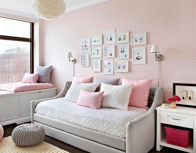 Диван-кровать Klick бежевого цвета 140х200