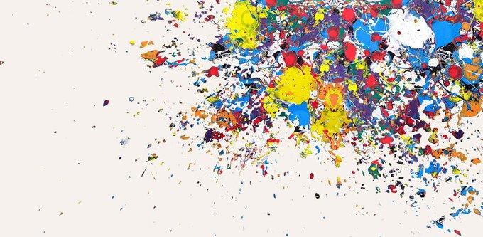 Картина (репродукция, постер): Нью-Йорк, оптимистическая абстракция