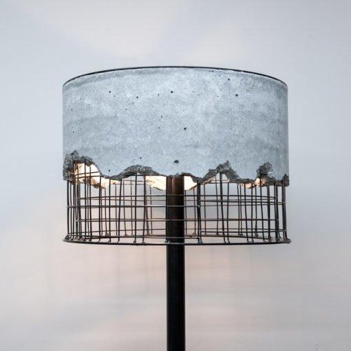 Торшер Arma из бетона и металла