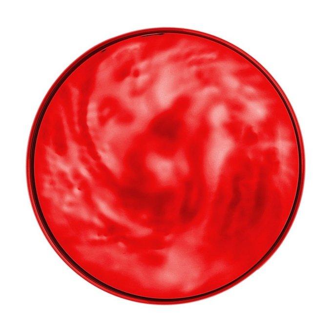 Блюдо Moon красного цвета