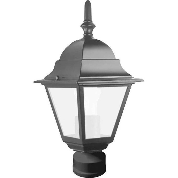 Уличный светильник из металла и стекла