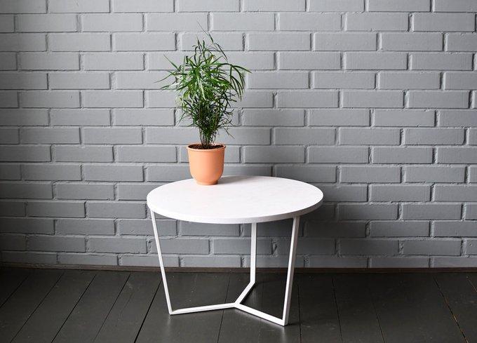 Журнальный стол Porto белого цвета
