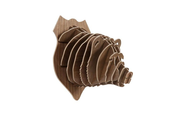 Декоративная голова медведя Bitzen Brown