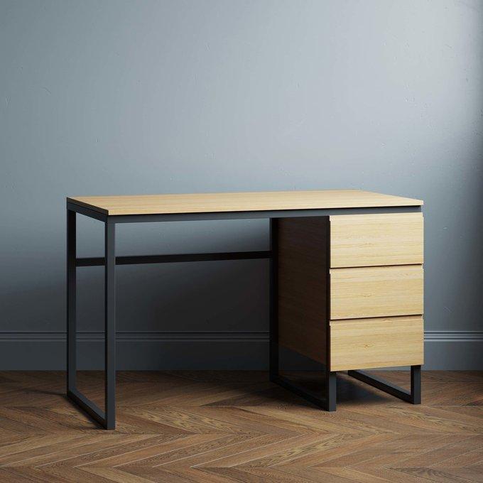 Письменный стол Joseph 160х70 цвета натуральный дуб