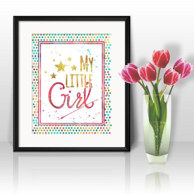 Постер Girl А4